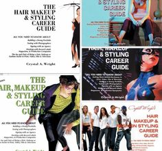 The hair makeup and fashion styling career guide available on Amazon.com and iTunes