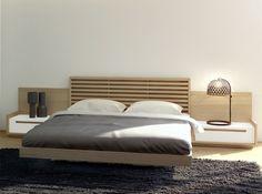 Elegante dormitorio con diseño minimalista, que combina la chapa de madera de roble con lacado blanco mate creando un ambiente suave y puro. Aire fresco y natural para amueblar tu habitación.   WEB: www.muebleslafabrica.com  TIENDAS: www.muebleslafabrica.com/tiendas  TELÉFONO: 902 918 038   MAIL: info@muebleslafabrica.com  FACEBOOK: www.facebook.com/MueblesLaFabrica