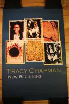 TRACY CHAPMAN - Rare Promotional Poster FOR SALE