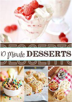Dessert in 10 Minute