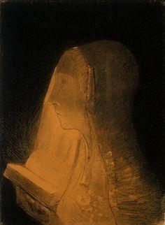 Odilon Redon - The Book of Light, 1893
