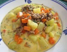 Kartoffel-Hackfleisch-Topf mit Schmand und Möhren 6