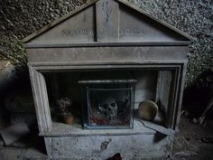 Discover Fontanelle Cemetery Caves in Naples, Italy: Skulls from the plague of 1656 and World War II bombings are united by a cult dedicated to caring for the ancient dead. Catacombs, Cemetery, Wwii, Skulls, Naples Italy, Caves, Napoli Italy, World War Ii, Blanket Forts
