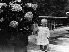 Pictured here in July 1922 at one year old, Prince Philip of Greece.