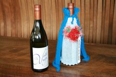 Knitted section Champagne, Bottle, Decor, Decoration, Flask, Decorating, Jars, Deco
