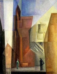 Lyonel Feininger - Torturm I, 1923-1926