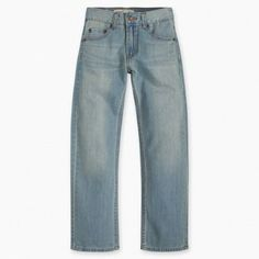 Nothing looks more classic on a little man like a pair of levi's® regular fit jeans. They've been designed to look good and feel comfortable as he explores the . Boys Jeans, Jeans Pants, Little Man, Feeling Great, Big Boys, That Look, Pairs, Fitness