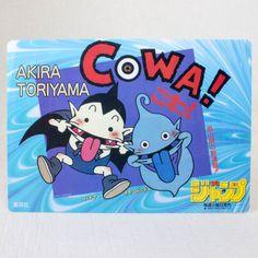 COWA Toriyama Akira Shonen Jump Plastic Pencil Board Pad Shitajiki JAPAN