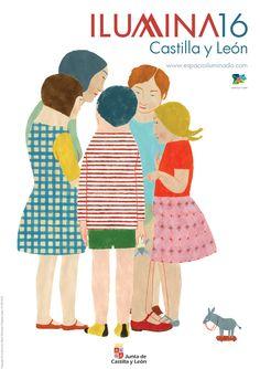 No sabéis cómo nos apetecía compartir nuestro nuevo cartel para este año, obra de Elena Odriozola (Premio Nacional de Ilustración). Buscad los guiños cervantinos.