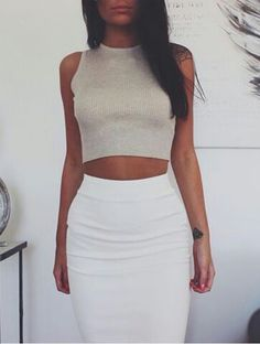 Pencil skirt & top