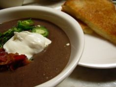 black-bean-soup Brazilian