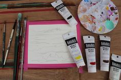 Chase the daylight a little longer by painting a vibrant sunset. Painter Sara Barnes's step-by-step tutorial shows you how.