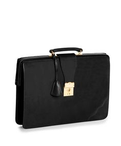Peal & Co. Top Frame Briefcase