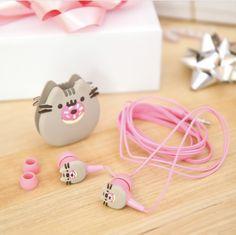 pusheen earplugs
