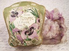 Vintage Floramye Art Nouveau Paris France