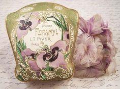 Vintage Floramye Art Nouveau Paris France