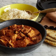 This easy chicken tikka masala recipe features a slightly spicy tomato cream sauce, just like the Indian restaurant staple - but with really juicy chicken.