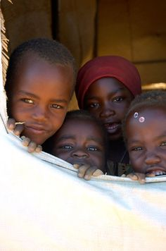 Refugee camp school, Darfur Sudan