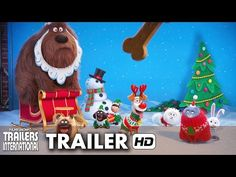 Pets - A Vida Secreta dos Bichos Trailer 'feliz Natal' (2016) HD - YouTube