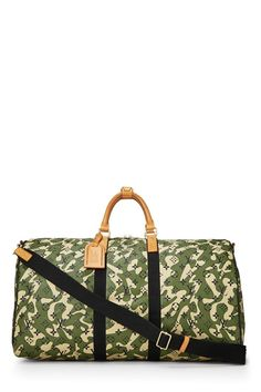 6b38ca2d391d Louis Vuitton Takashi Murakami x Louis Vuitton Monogramouflage Keepall  Bandouliere 55 - What Goes Around Comes