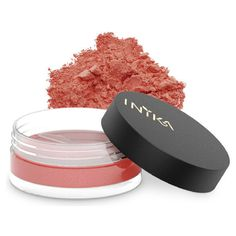 INIKA Mineral Blusher Peachy Keen ($26) ❤ liked on Polyvore featuring beauty products, makeup, cheek makeup, blush, mineral blush, blush brush and inika