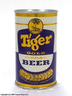 Tiger Singapore Beer Old School