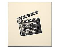 Placa Decorativa Slate - 20x20cm