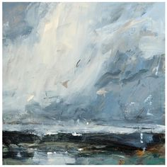 Louise Balaam Cornish coast pale grey