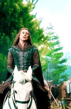 Hîr nín, Legolas. Celin 'winiath o adar lín. Cân i hi danwenidh na le. #botfa #elves #hobbit