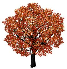 View album on Yandex. Red Maple Tree, Red Tree, Easy Mosaic, Cartoon Trees, Paper Mosaic, Tree Clipart, Picture Tree, Colorful Trees, Tree Wall