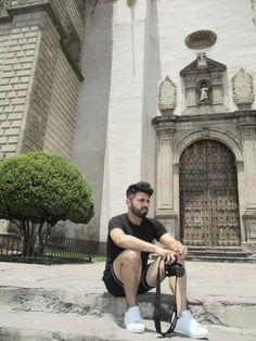 SelfPortrait, Oscar Cervantes, Templo de San Francisco Javier Tepotzotlán, Edo. de México, México