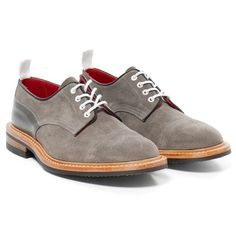 Tricker's for Haven Two Tone Super Shoes Grey