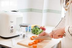 Tommee Tippee 440065 - Robot de cocina al vapor Baby Cooking, Blender Recipes, Kettle, Kitchen Appliances, Food, Food Processor, Diy Kitchen Appliances, Tea Pot, Home Appliances