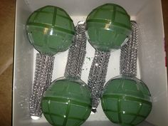 Diy Diamond Bouquet Holders
