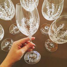 calici di cristallo dipinto a mano In Loco, Flute, Alcoholic Drinks, Champagne, Wine, Tableware, Glass, Dinnerware, Drinkware