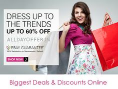 All Day Offer: Online shopping special offers today