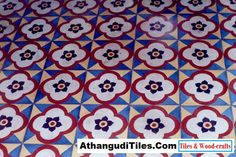 AthangudiTiles.Com - Athangudi Tiles - Tile Designs Room Wall Tiles, Indian Crafts, Tile Design, Wood Crafts, Kids Rugs, Antiques, Home Decor, Antiquities, Antique