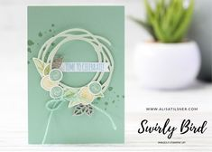 Learn card making and learn new stamping techniques with Alisa Tilsner Independent Stampin' Up! Time To Celebrate, Stamping Up, Creative Cards, Craft Fairs, Swirls, Note Cards, Cardmaking, Place Card Holders, Notes