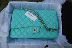 Tiffany blue Chanel bag