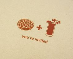 Waffles + Bloody Mary's...great idea. WILL be doing this soon