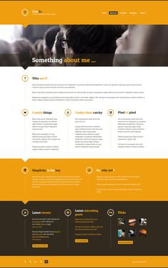 Creolio - Personal portfolio and microblog by Matt Imling, via Behance