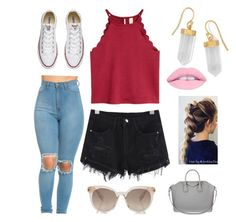 """""""cutie"""" by madystultz on Polyvore featuring Converse, BillyTheTree and Givenchy"""