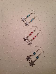 A personal favorite from my Etsy shop https://www.etsy.com/ca/listing/503714634/snowflake-earrings-three-styles