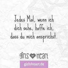 Einer muss den ersten Schritt machen.  Egal wie schwer es einen fällt. Mehr Sprüche auf: www.girlsheart.de