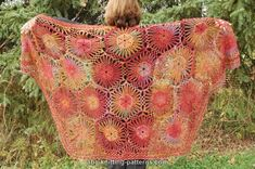 "Free pattern for ""Afternoon Sunlight Shawl""!"