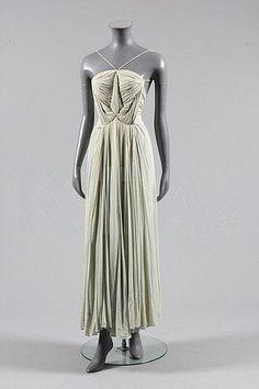 Evening Dress Madame Grès, 1939 Kerry Taylor Auctions
