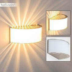 LED Wandleuchte  Lampe Flurleuchte Treppenhaus Neutralweiß chrom