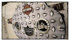 Hakenleiste Harley Davidson, Chrome, Crafting