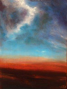 'Evening Across the Bog' by John O' Grady Irish, Art, landscape, Painting, Ireland