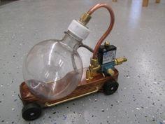 DIY Steampunk Blowfish Derby Car: Very cool! by StarWatchCat